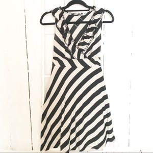 INC International Concepts black cream Dress